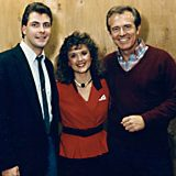 w/ wife Kerry & Bob Eubanks '87 we won on the Newlywed Game